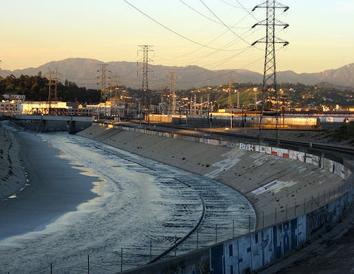 LA River, image via wikipedia.org.