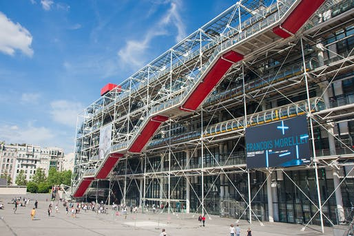 "The Pompidou's mothership in Paris. Photo: Peter M Graham/<a href=""https://www.flickr.com/photos/pmgrah/5748634546/"">Flickr</a>"