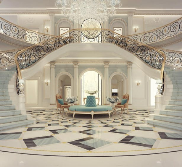 Exploring Luxurious Homes : Grand Lobby Interior Design | IONS ...