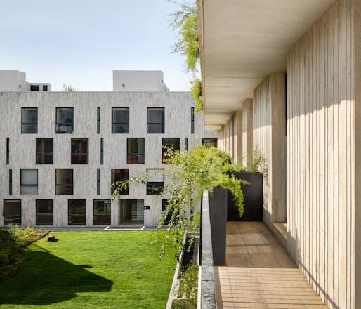 Isaac Michan Daniel of Michan Architecture: ODP Apartments, Mexico City, 2018. Image credit: Rafael Gamo.