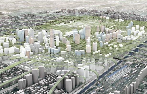 Beijing CBD New Ground