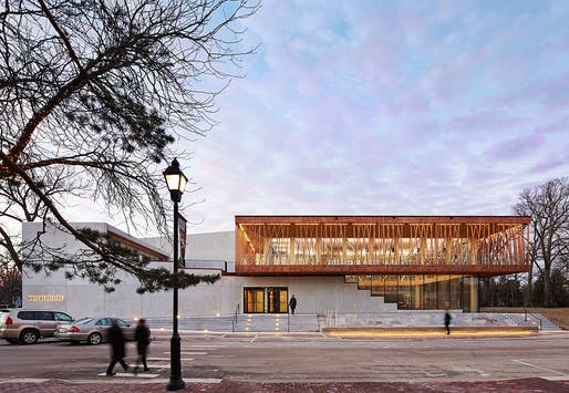 Writers Theatre by Studio Gang. Photo: Steve Hall © Hedrich Blessing.