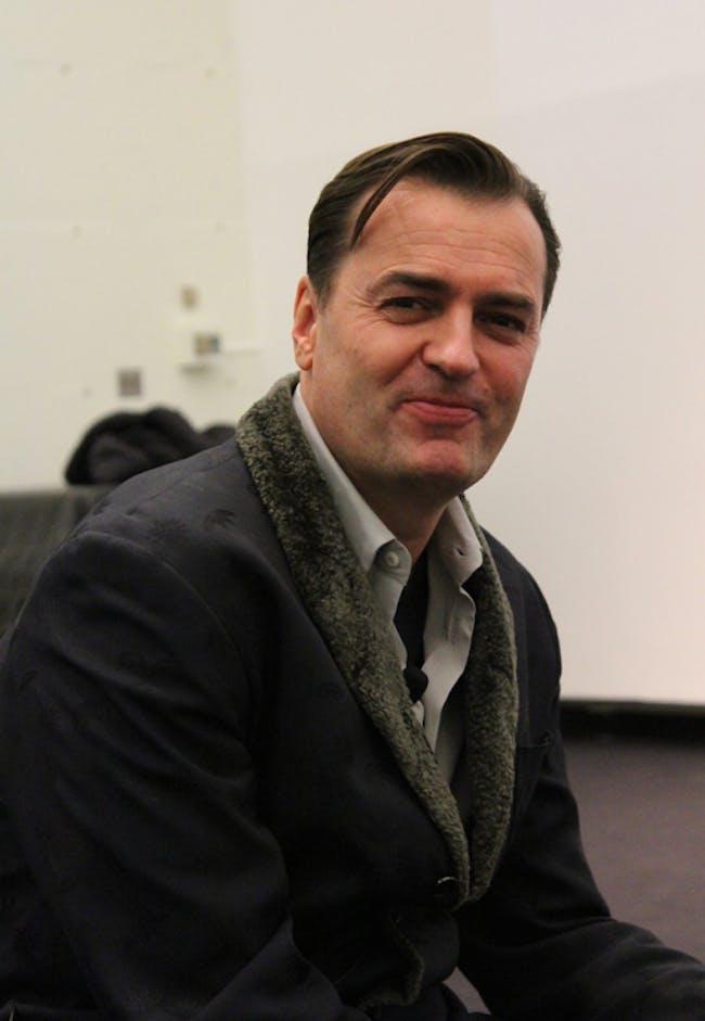 Patrik Schumacher, image via http://archinect.com/lian/live-blog-patrik-schumacher