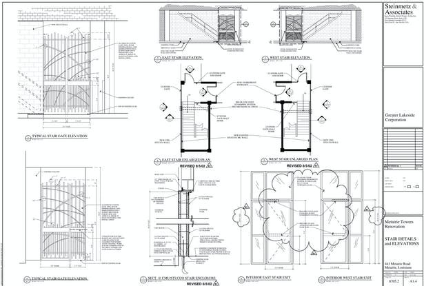 Stair Details and Elevations