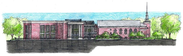 Early Concept South Elevation