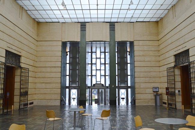 Interior of the Seattle Asian Art Museum. Photo courtesy of Paul Michael Davis.