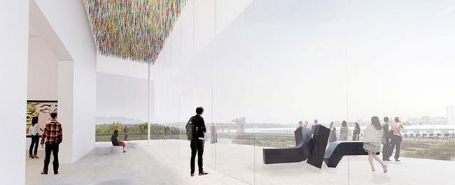 SANAA's design concepts for the Art Gallery of New South Wales expansion.