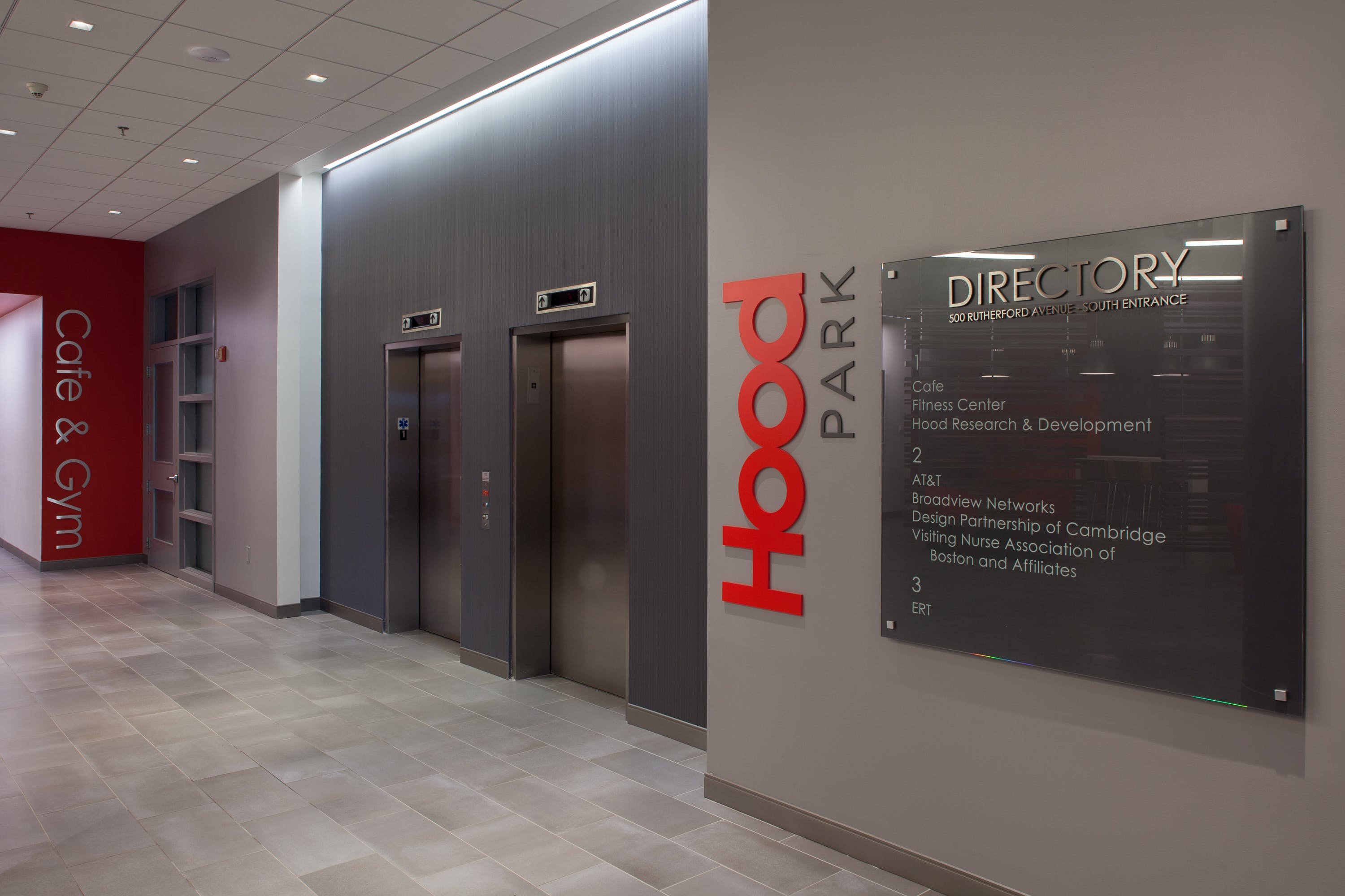 Hood Park Lobby Fusion Design Consultants Archinect