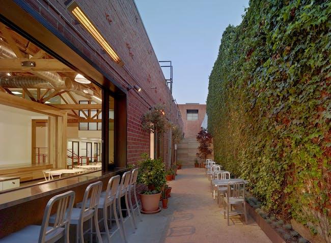 Sideyard and counter