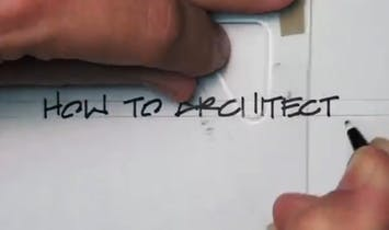 This video shows you how to hand-letter like an architect