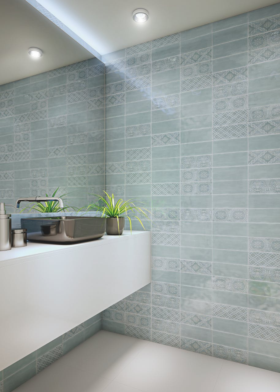 Fine Ative Ceramic Wall Tile Motif - Home Design Ideas and ...