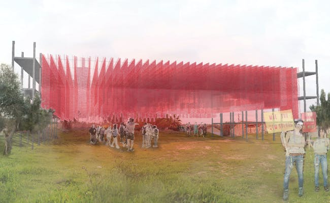 Winning EIRA LOUNGE proposal for Portugal's BONS SONS 2015 by Orlando Gilberto Castro and Tiago Ascensão.