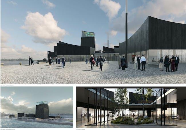 Views of the winning design from the Guggenheim's jury statement. Image: Guggenheim Foundation