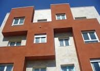 Eighteen flats building