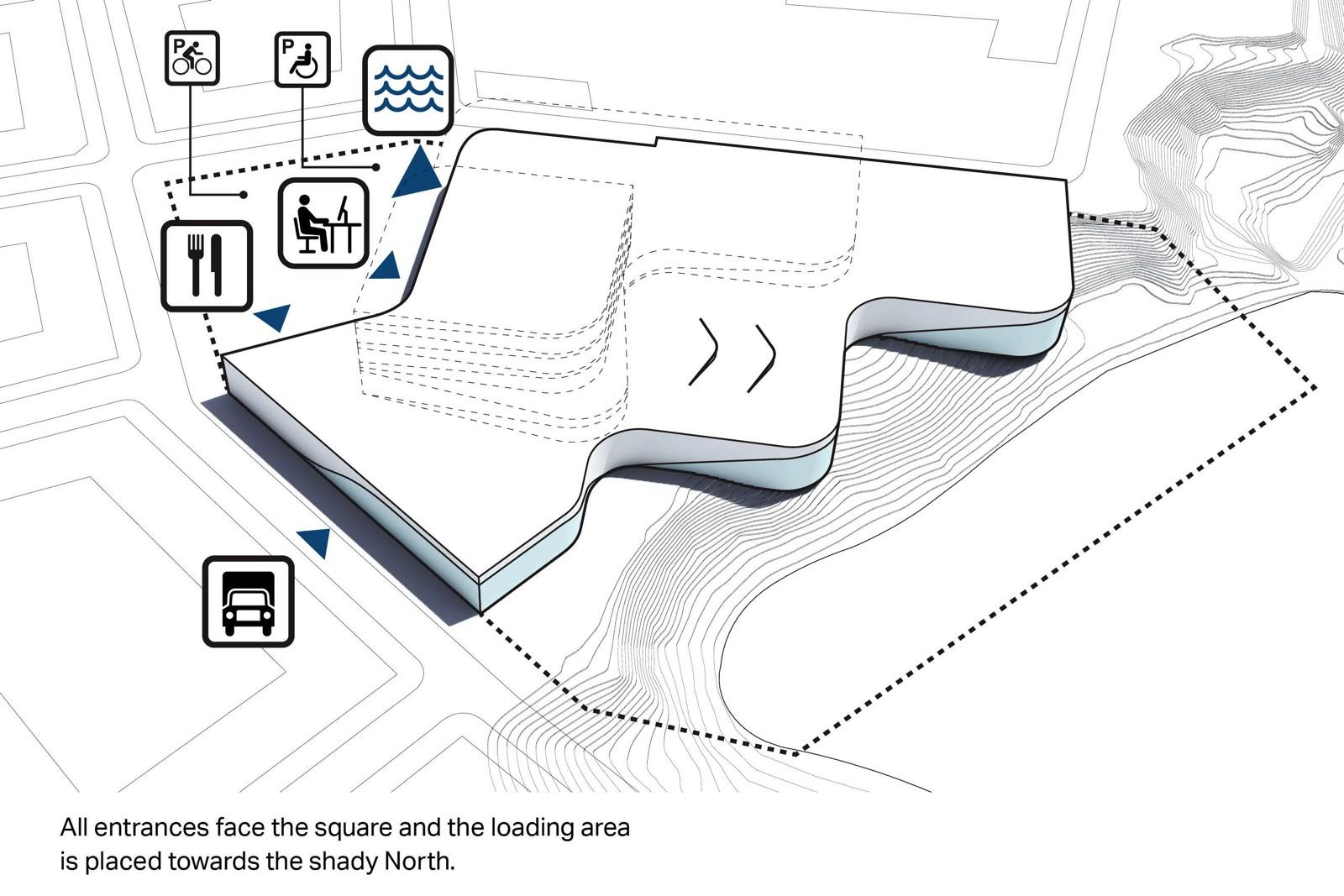A closer look: 3XN's winning scheme for a new aquatic