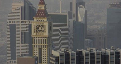 Image: Al Yaqoub Tower, Dubai, 2013, by Adnan Saffarini
