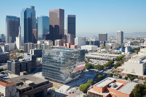 New United States Courthouse; Los Angeles by Skidmore, Owings & Merrill LLP. Photo: Skidmore, Owings & Merrill LLP   Bruce Damonte.