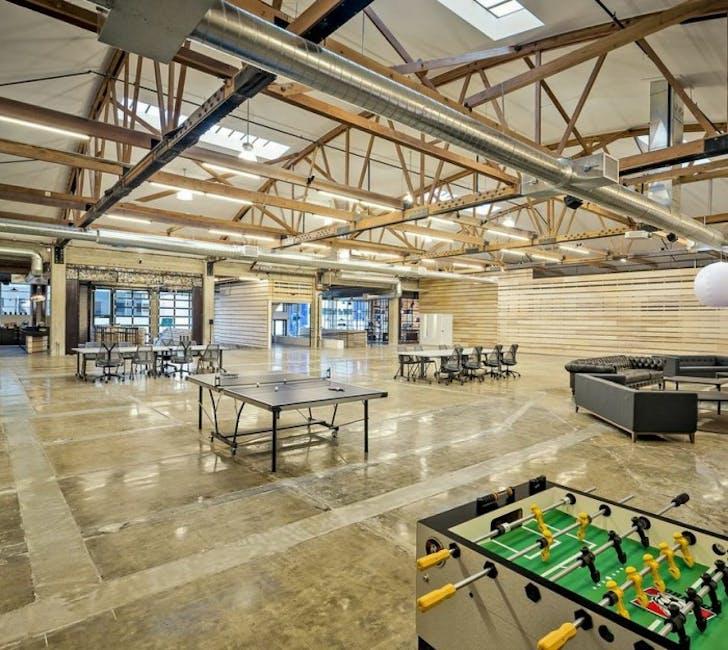 Wordpress' office in San Francisco, image via Office Snapshots.