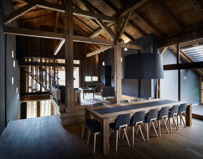 Villa Solaire in Pied de La Plagne, Morzine, France (interior) Photo- Julien Lanoo