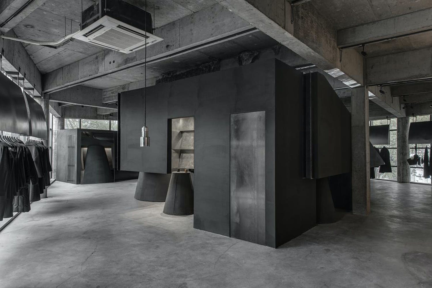 black cant system store by hangzhou an interior design wins 2016