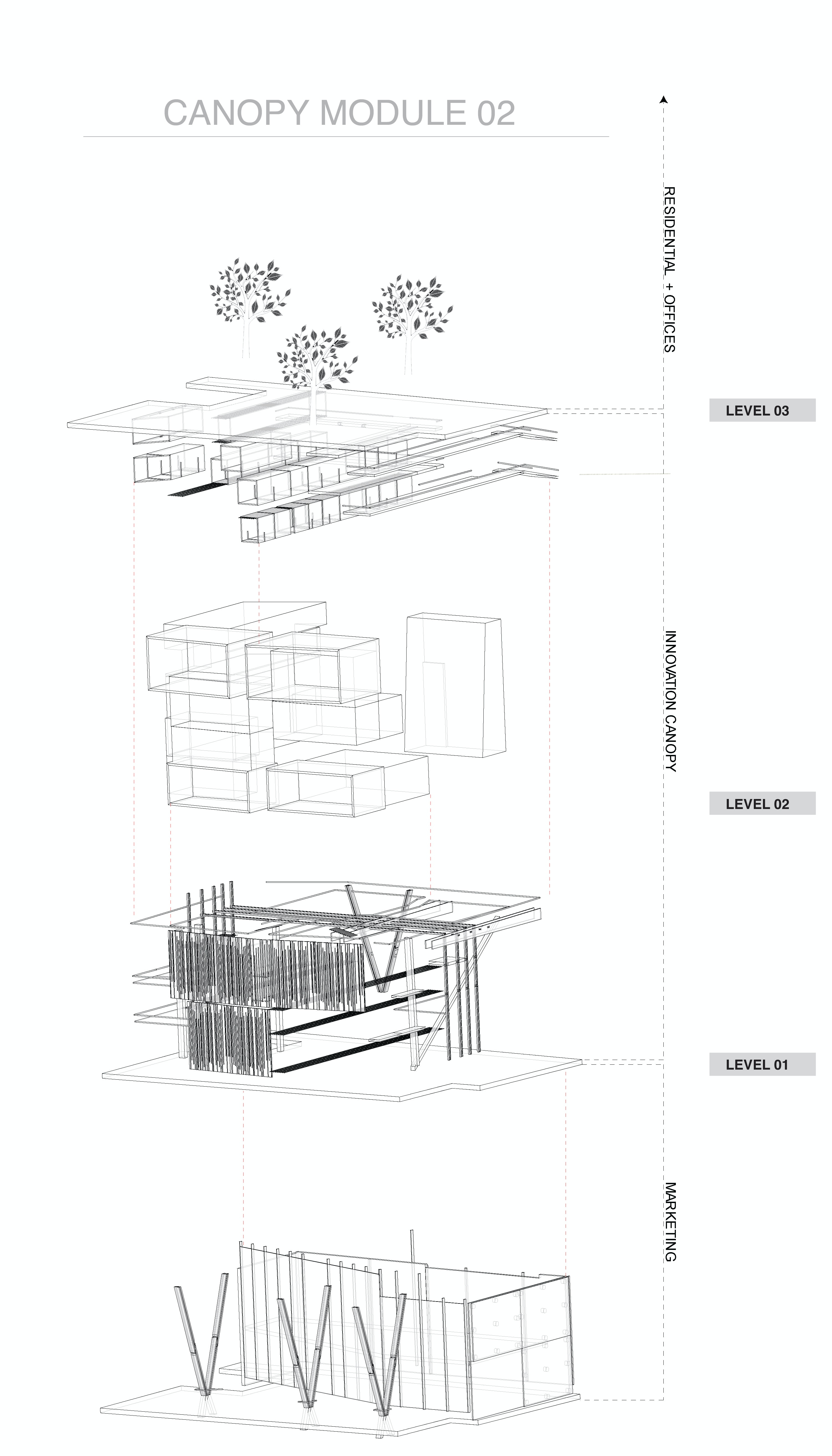 Status School Project Location New York NY US My Role Architectural Designer Additional Credits Mathew Mark - Design Partner  sc 1 st  Archinect & D7 | NYC Innovation Canopy. | Adam Mahardy | Archinect