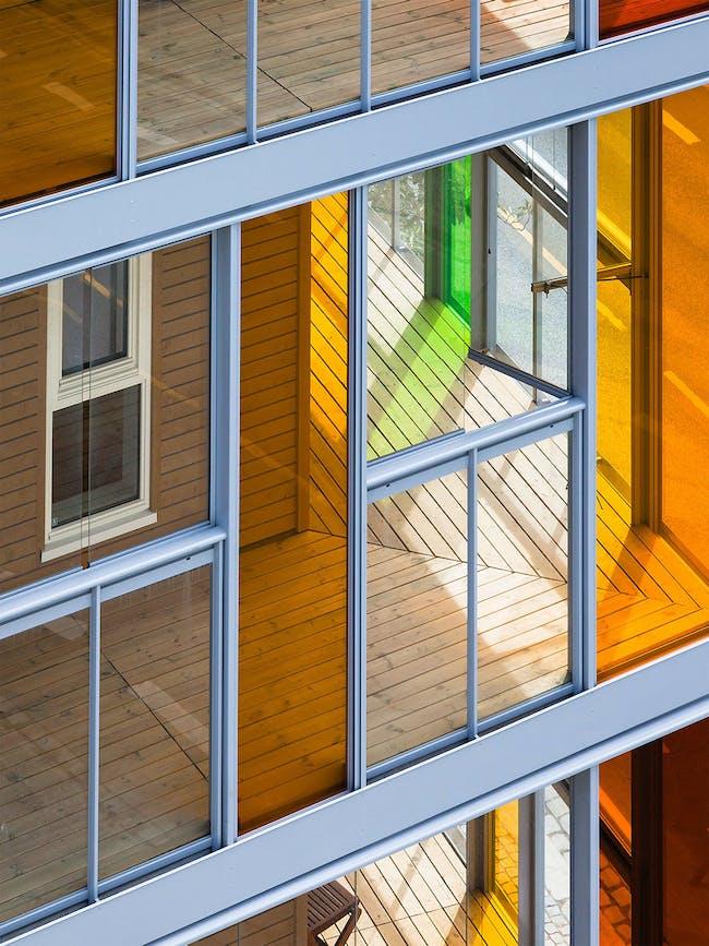 Verket in Bergen, Norway by Link Arkitektur; Photo: Hundven-Clements Photography