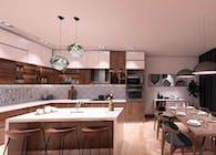 HOUSE INTERIOR DESIGN, 360 VIDEO PRESENTATION IN SANTA BARBARA