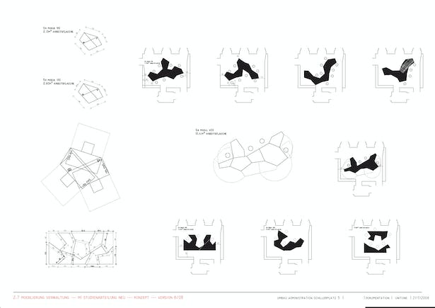 department of student affairs, furniture concept
