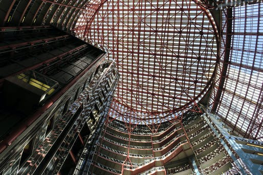James R. Thompson Center, Chicago. Photo: Daniel Lobo/Flickr.