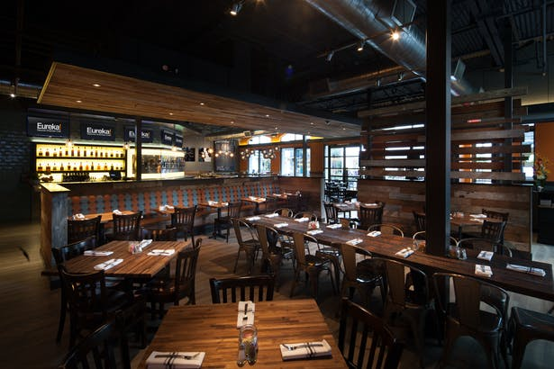 authentic | brand centric restaurant design. vibrant interior finishes with modern industrial styling.