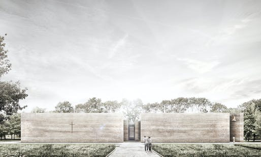 Unbuilt Concept - Adamiczka Consulting: A Church for the Local Community, Wroclaw, Poland. Photo credit: Azure