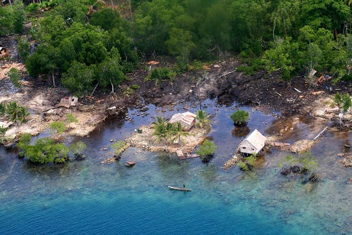 Post-tsunami destruction in the Solomon Islands in 2007. Credit: Australian Department of Foreign Affairs and Trade/AusAid via CC by 2.0