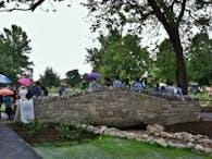 River Rock Gardens Bridge, Riverside Park, Buffalo, NY