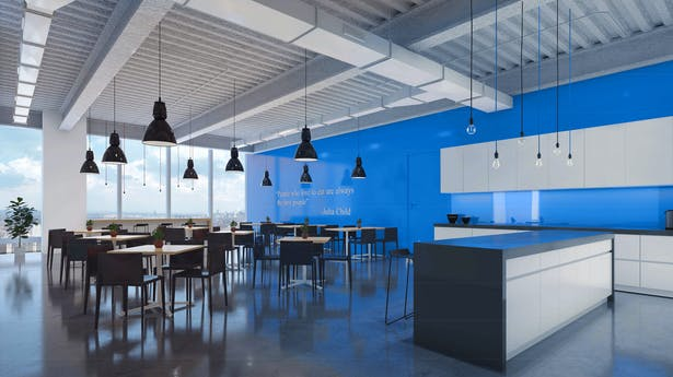 Shared Cafeteria Rendering