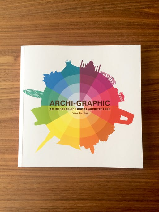 'Archi-Graphic: An Infographic Look at Architecture' By Frank Jacobus. Published by Laurence King Publishing. Photo: Justine Testado.