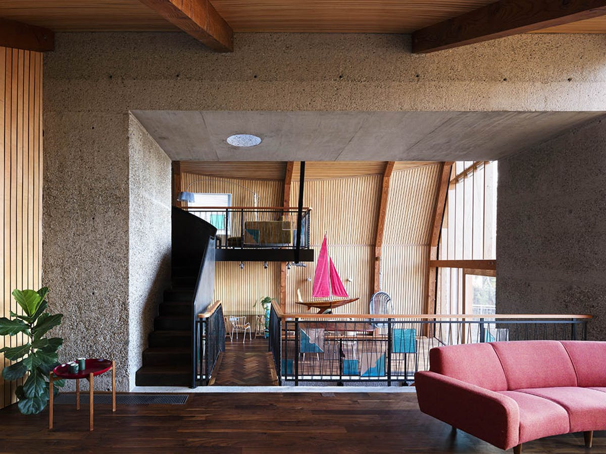 The houseboat mole architects archinect - Architects poole dorset ...