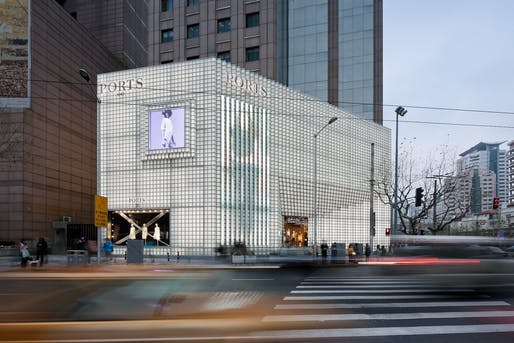 Ports 1961 Flagship Store, Shanghai. Photo by Shengliang Su.