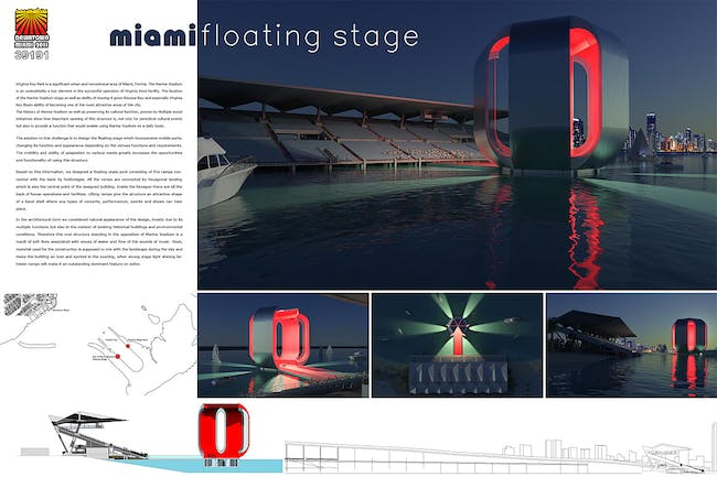 4th Place: MIAMI FLOATING STAGE