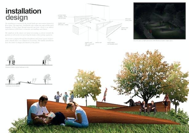 Panel 2 - Installation design