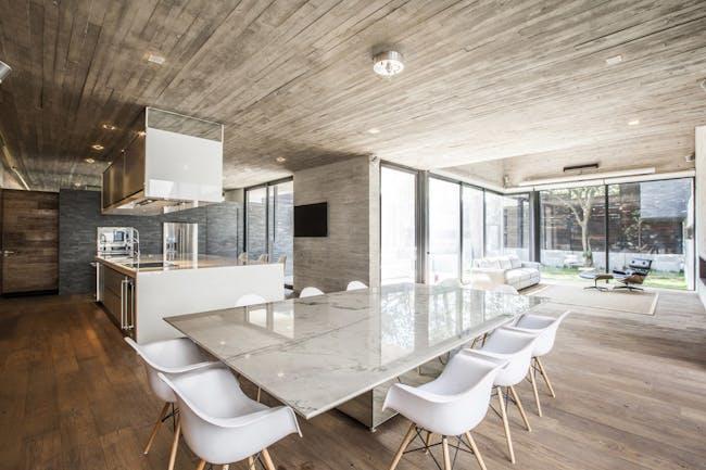 Casa F12 in Mexico City by Miguel de la Torre Arquitectos