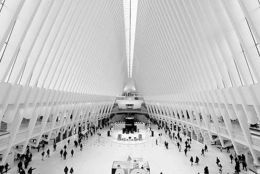 Oculus, World Trade Center, NYC. Photo: Joe Hunt/Flickr.