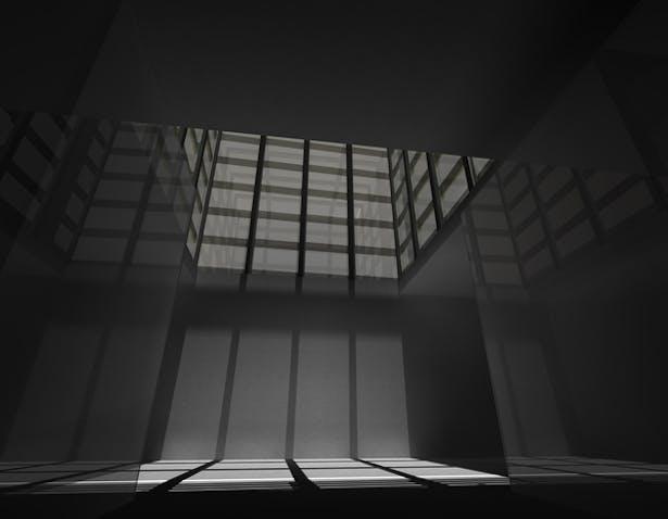 Interior: Light well
