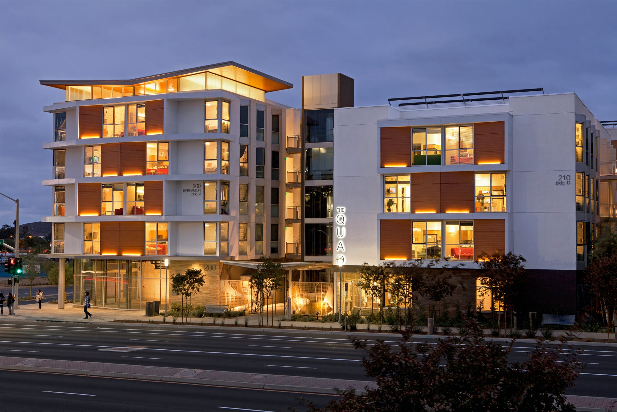 Quad at North City Student Housing | Safdie Rabines Architects ...