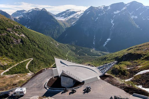 Utsikten The viewpoint at Gaularfjellet | Architect: Code arkitektur | photo by Jiri Havran