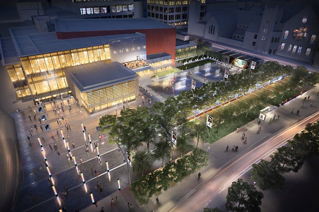 proposed new design by Oslund and Associates