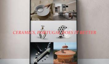Design Pieces of Portuguese Ceramics and Architecture highlighted at 100% Design