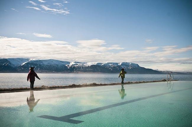 Swimming Pool in Hofsós, Iceland by BASALT Architects; Photo: Guðmundur Benediktsson