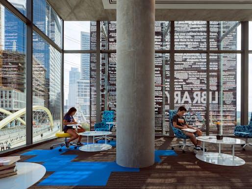 Austin Central Library. Photo: Nic Lehoux.