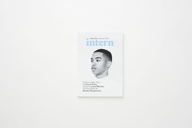 Intern Magazine, issue #2. Photo by Meagan Sarah Hodds