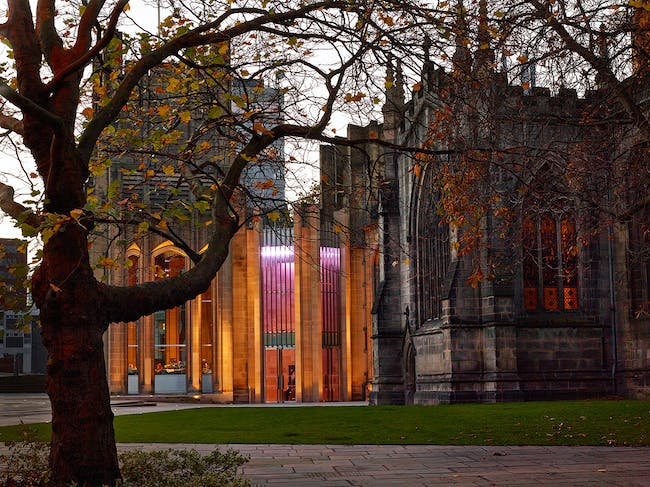 Sheffield Cathedral, New Main Entrance and reordering by Thomas Ford & Partners. Photo © Paul Barker.